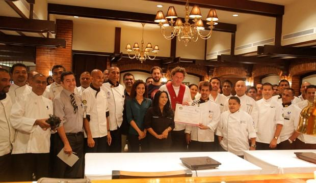 Marco Pierre White receives honorary membership of Sri Lankan Chefs Guild